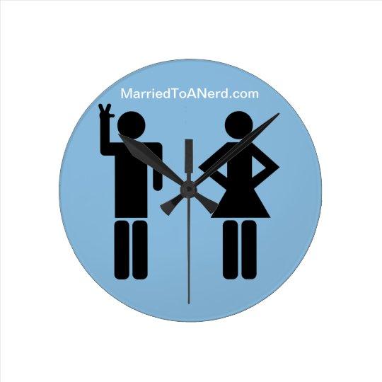 Married To A Nerd Wallclock