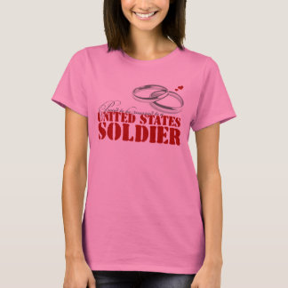 Married to a Soldier T-Shirt