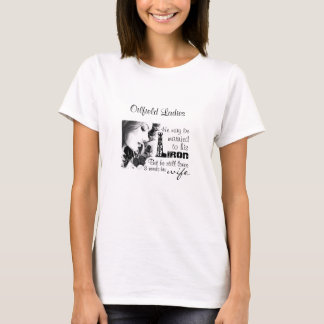 Married to IRON, but loves wife T-Shirt