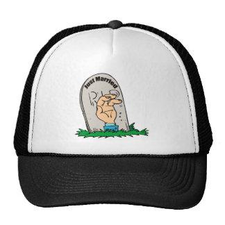 Married Tombstone Hat / Cap
