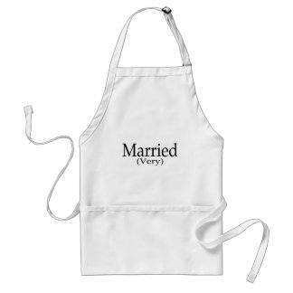 Married Very Standard Apron
