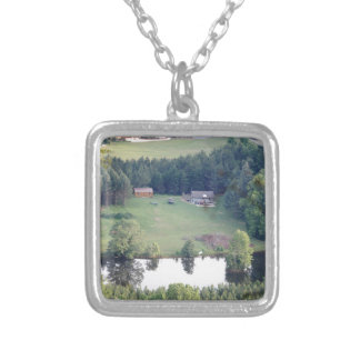 marrow Mountain Silver Plated Necklace