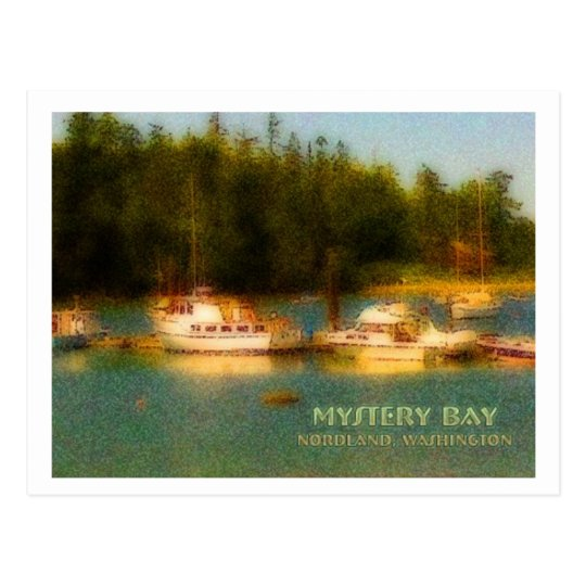 Marrowstone Island, Washington Postcard