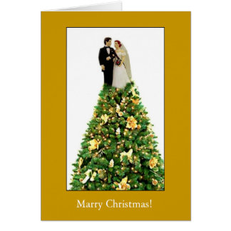 Marry Christmas! Greeting Card