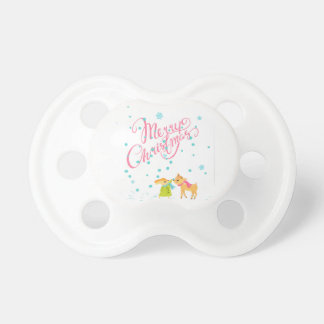 Marry Christmas Pacifier