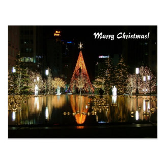 Marry Christmas! Postcard