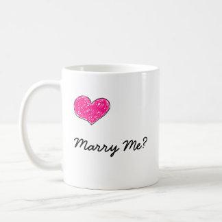 Marry Me? Coffee Mug