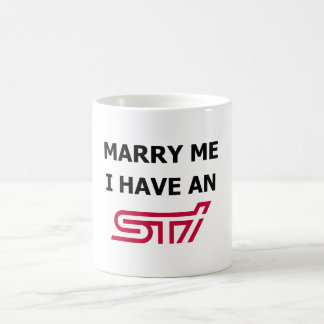 Marry Me I Have An STi Mug