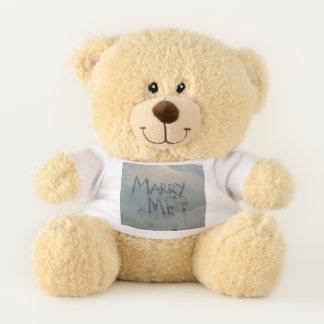 Marry Me? (in sand) Teddy Bear