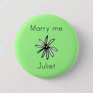 Marry me Juliet green button