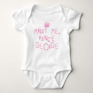 Marry Me Prince George Baby Bodysuit