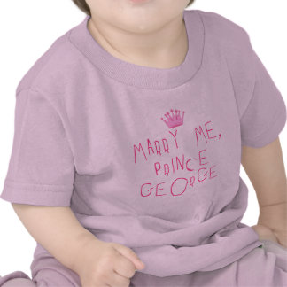 Marry Me Prince George T-shirt