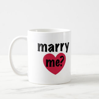 Marry Me Valentine's Day  Mug