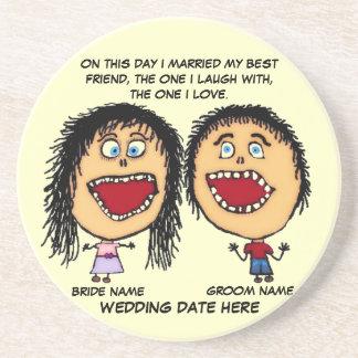 Marry My Best Friend Coaster