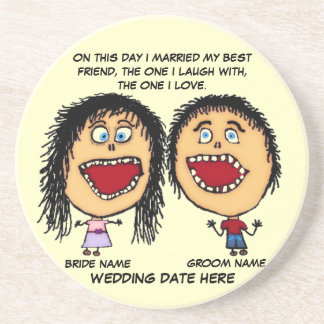 Marry My Best Friend Coasters