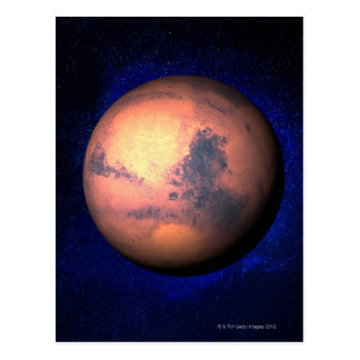 Mars 5 postcard