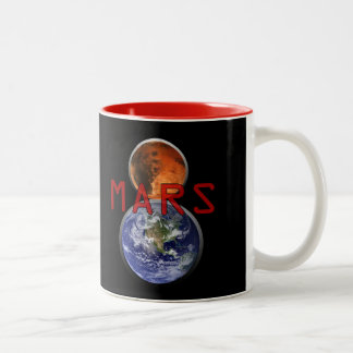 Mars 8 Two-Tone coffee mug