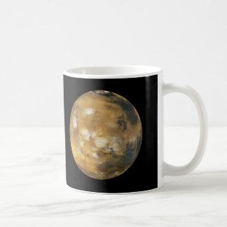 Mars!  A beautiful image from space.  NASA Classic White Coffee Mug
