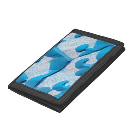 Mars Blue Dunes Tri-fold Wallet