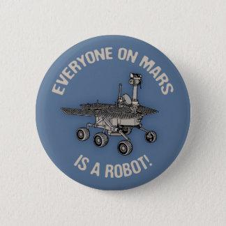 Mars Census 2 Inch Round Button