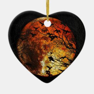 Mars Ceramic Heart Ornament