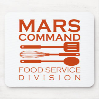 Mars Command Food Service Division Mouse Pad