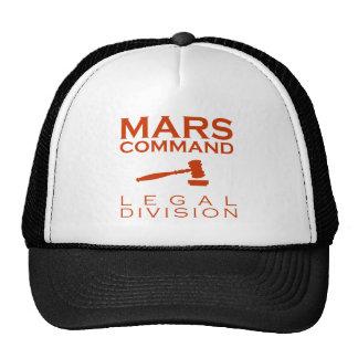 Mars Command Legal Division Trucker Hat
