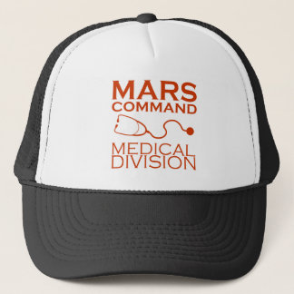 Mars Command Medical Division Trucker Hat