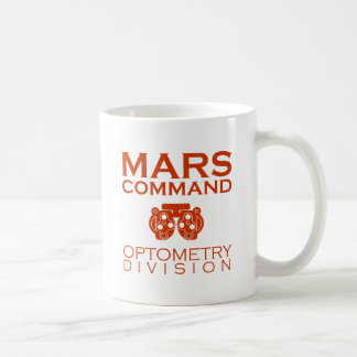 Mars Command Optometry Division Coffee Mug