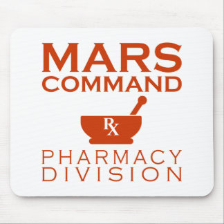 Mars Command Pharmacy Division Mouse Pad