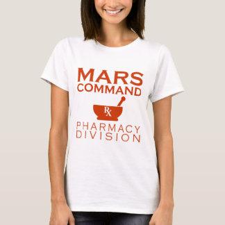 Mars Command Pharmacy Division T-Shirt