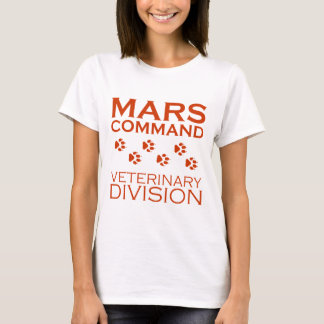 Mars Command Veterinary Division T-Shirt