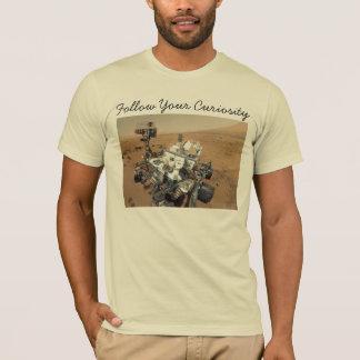 Mars Curiosity Self-Portrait T-Shirt