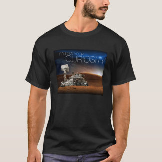 Mars Curiosity T-shirt