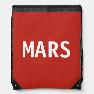 Mars Drawstring Backpack