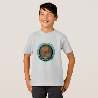 Mars generation kids T-shirt