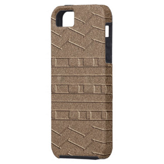 Mars JPL Curiosity Rover Tire Tread Homage Red iPhone 5 Cover