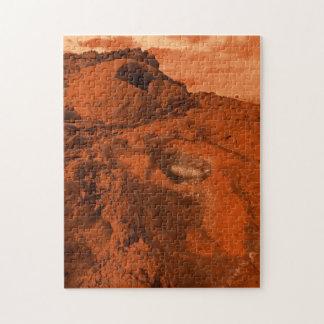 Mars landscape puzzles