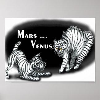 Mars meets Venus Poster