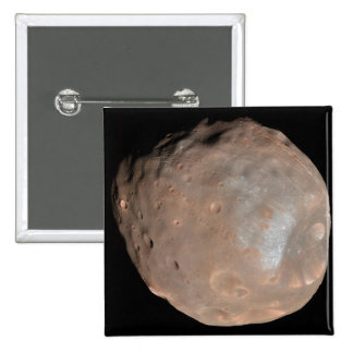 Mars moon Phobos 2 Inch Square Button