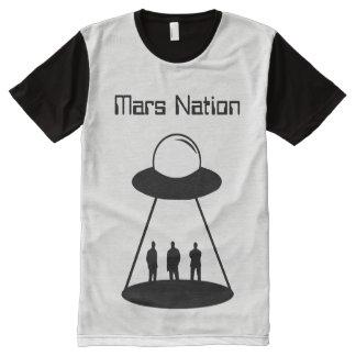 Mars Nation Alien All-Over-Print T-Shirt
