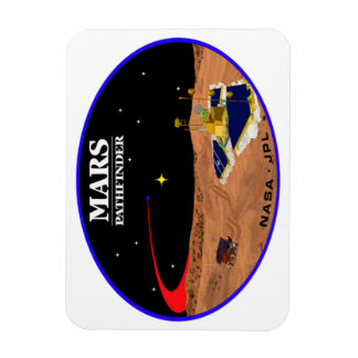 MARS PATHFINDER VINYL MAGNET