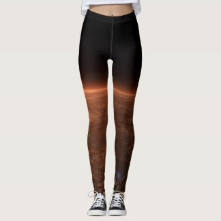 Mars Planet Nerdy Leggings