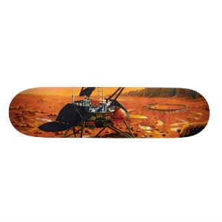 Mars Polar Lander Custom Skate Board