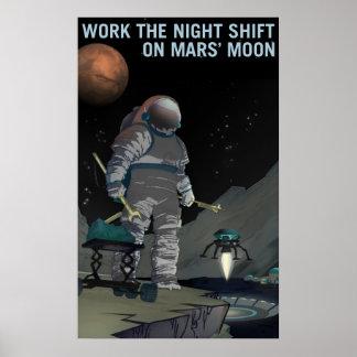 Mars Recruitment - Night Shift Poster