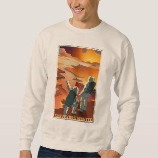 Mars Recruitment - Surveyors Wanted Sweatshirt