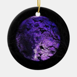 Mars Round Ceramic Ornament
