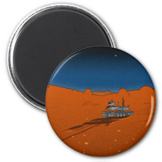 mars rover 2 inch round magnet