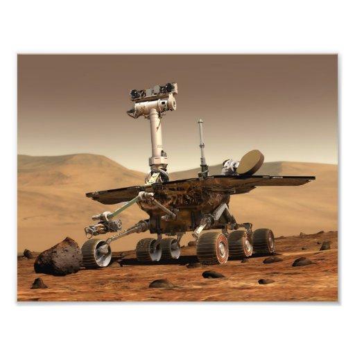 Mars Rover Art Photo