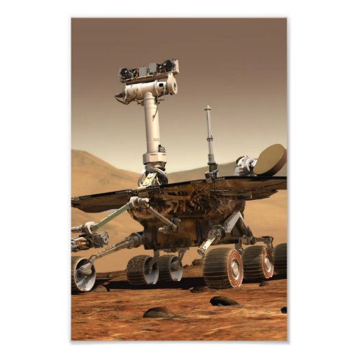 Mars Rover Photo Print
